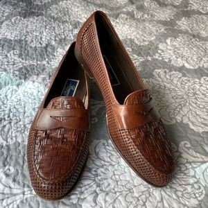 Cole Haan — Brown Leather Oxford Dress Shoes